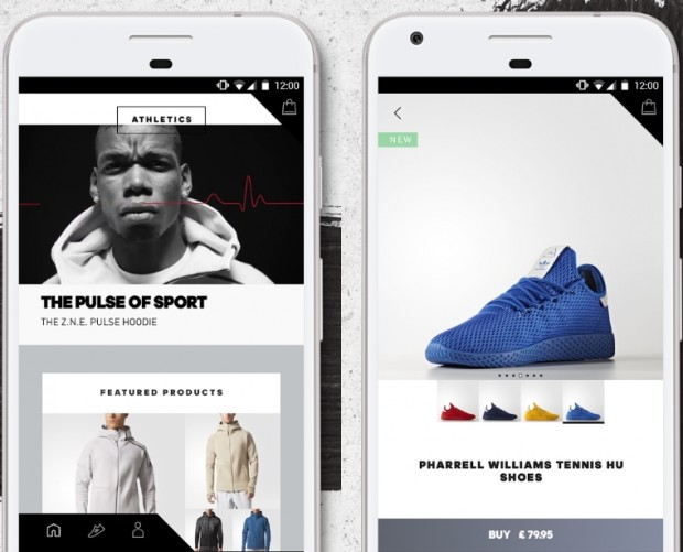 Adidas launches shopping app that learns about what you're into