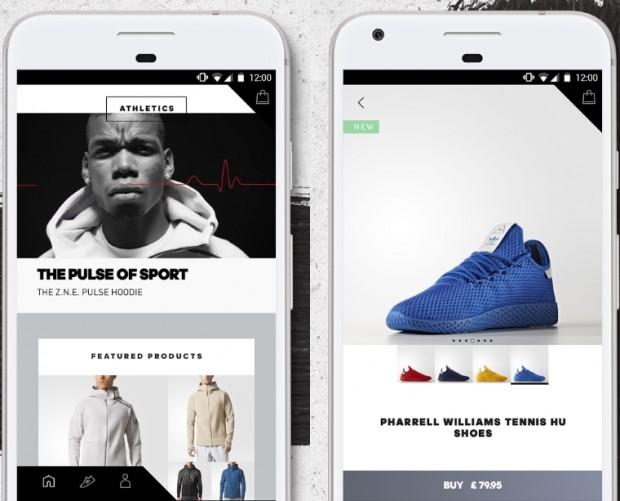 adidas shopping app
