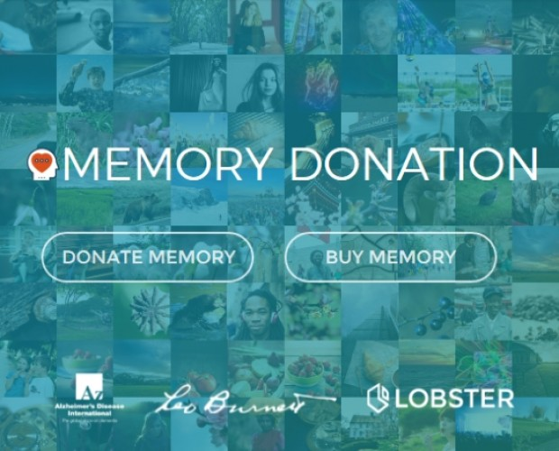 Alzheimer's Disease International links up with Lobster for donations via visual content