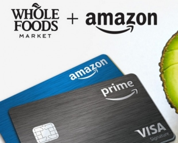 Amazon is giving Visa Rewards Prime members five per cent cashback at Whole Foods