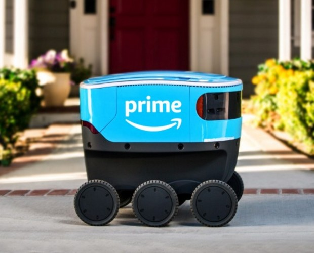 Amazon introduces self-driving delivery robots