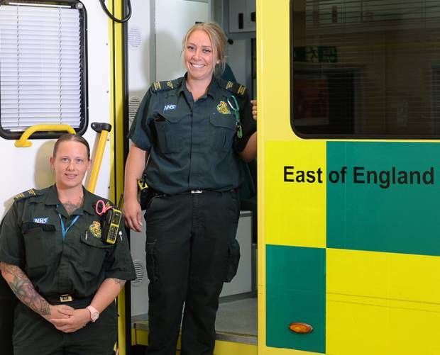East of England Ambulance Service partners with O2 for electronic patient record system