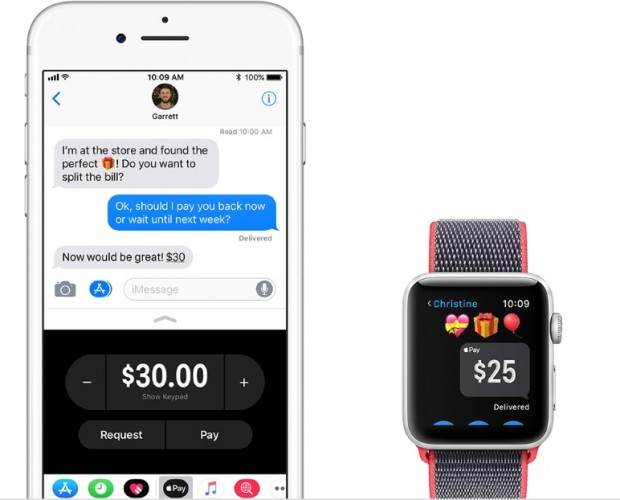 Apple soft launches P2P payments through Messages