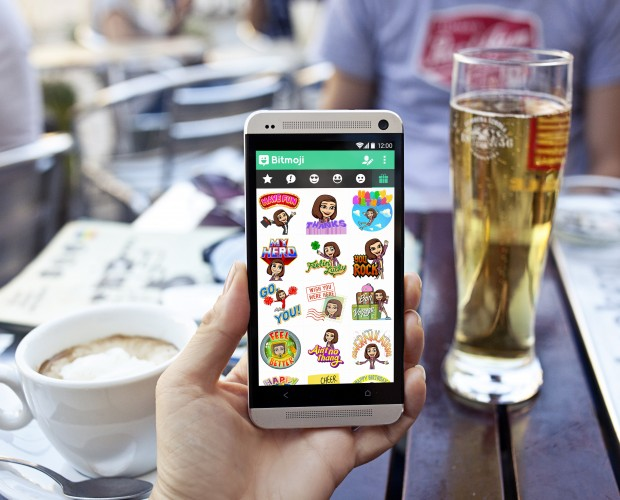 Snapchat's personalised emoji maker Bitmoji is fastest growing app