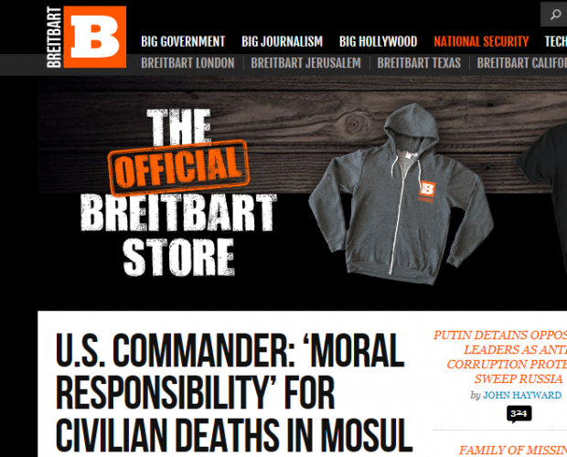 Brands are continuing to appear on Breitbart, despite blacklisting