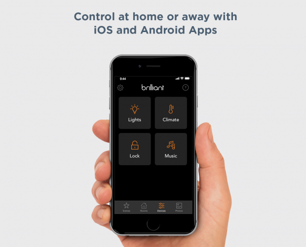 LIFX customers can now use the Brilliant smart home app to power their lights