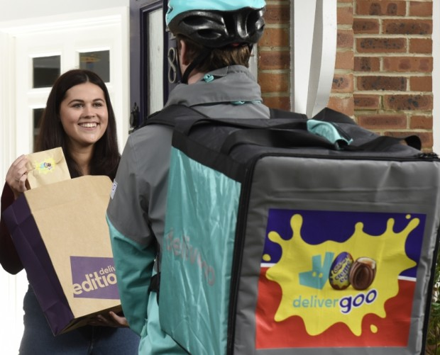 Deliveroo is delivering Cadbury Creme Egg dishes to your door this Valentine's