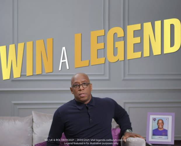 Cadbury teams up with England's top football clubs on Find a Legend, Win a Legend campaign