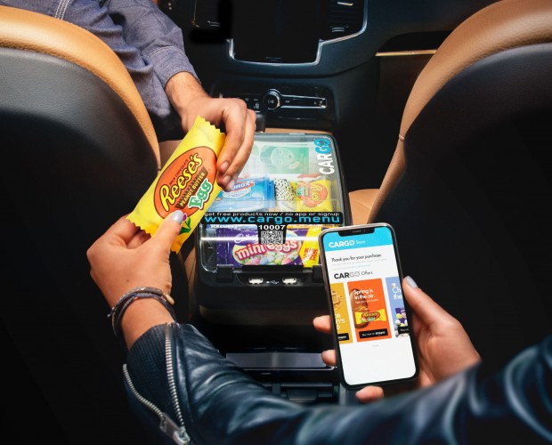 Hershey's partners with Cargo to bring Easter candy to Uber passengers