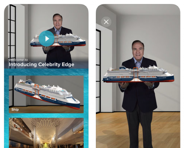 Celebrity Cruises turn to AR to give passengers private tours