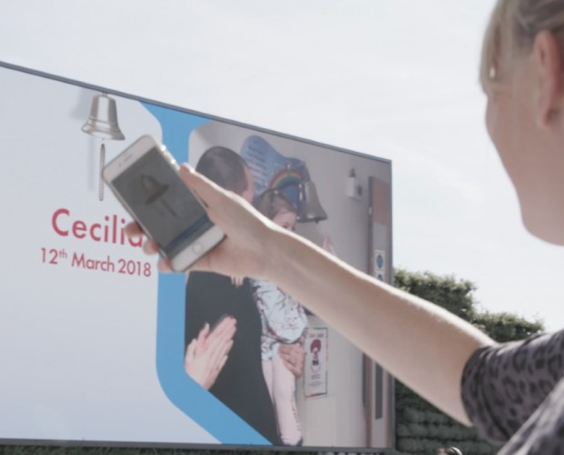 Children with Cancer launches social video featuring mobile donation billboard