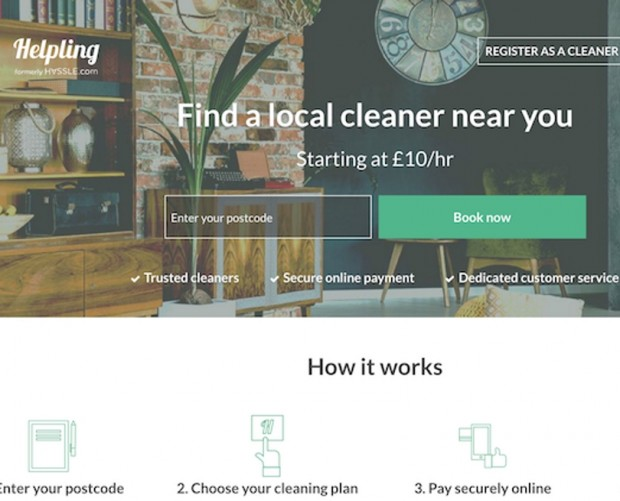 Cif partners with online cleaning marketplace Helpling via the Unilever Foundry