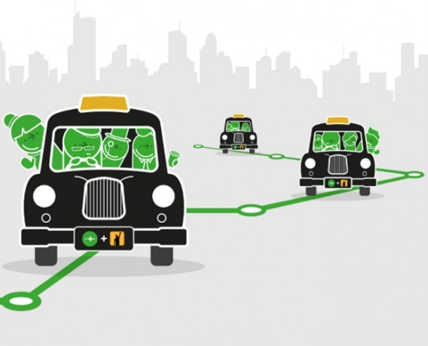 Citymapper links up with Gett for shared fixed taxi route