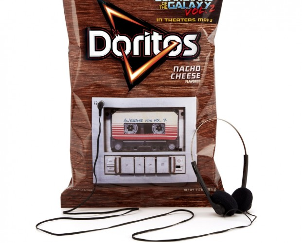Doritos puts cassette players in its bags to promote Guardians of the Galaxy 2