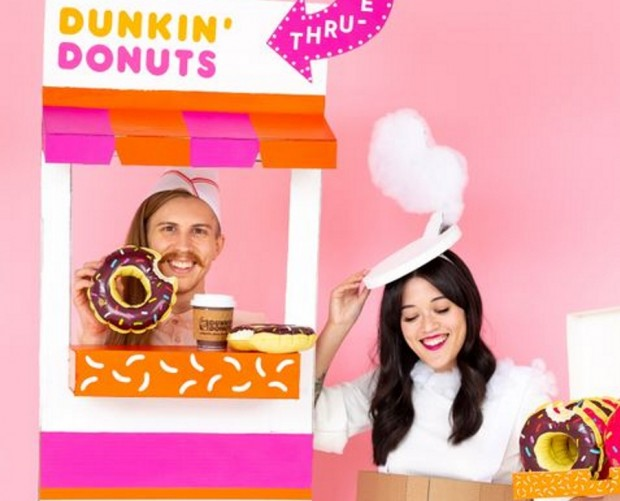 Dunkin' wants to see your best Halloween costumes on Instagram