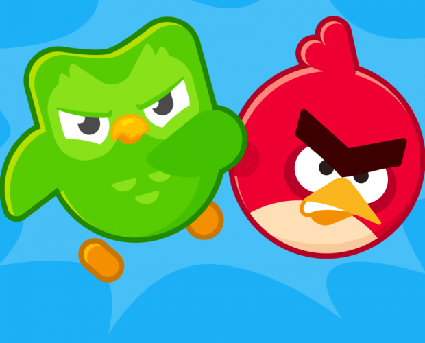 Duolingo launches Angry Birds app crossover promotion