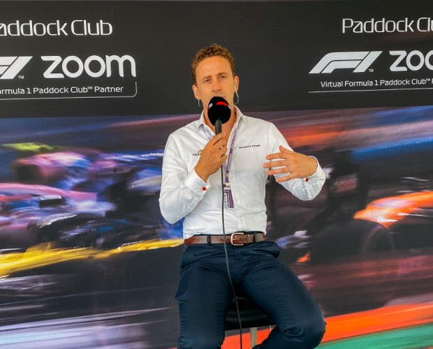 Formula 1 delivers virtual Paddock Club with Zoom