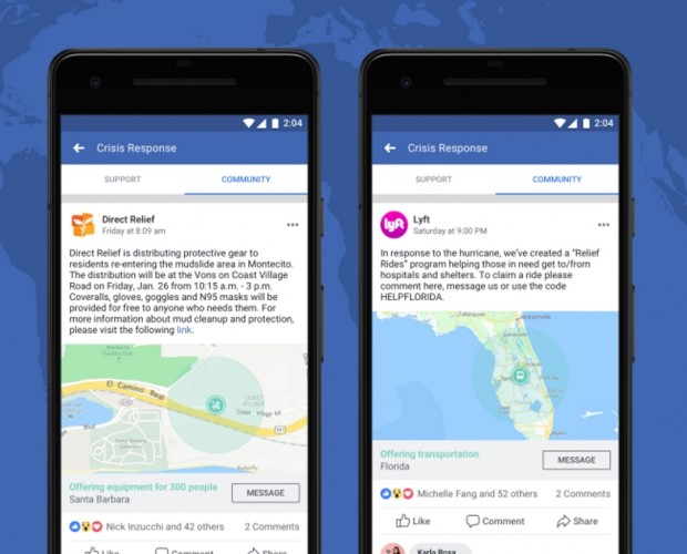 Facebook opens up its crisis response to Lyft, Save the Children, and others