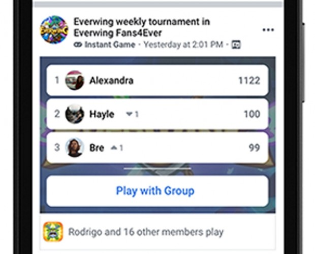 Facebook brings Instant Games to Groups and Lite