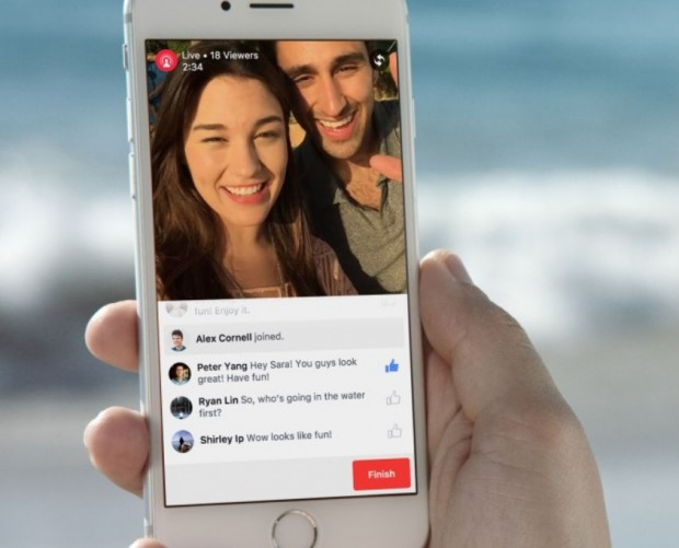One in five Facebook videos is a live stream - a year on from feature rollout