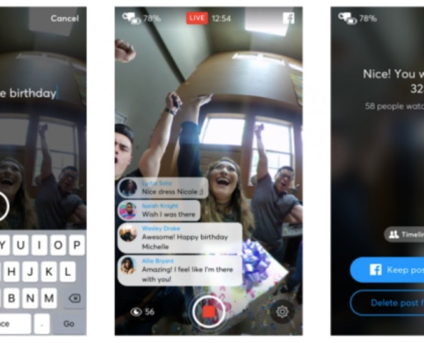 Facebook goes Live in 360-degrees for anybody with a 360 camera