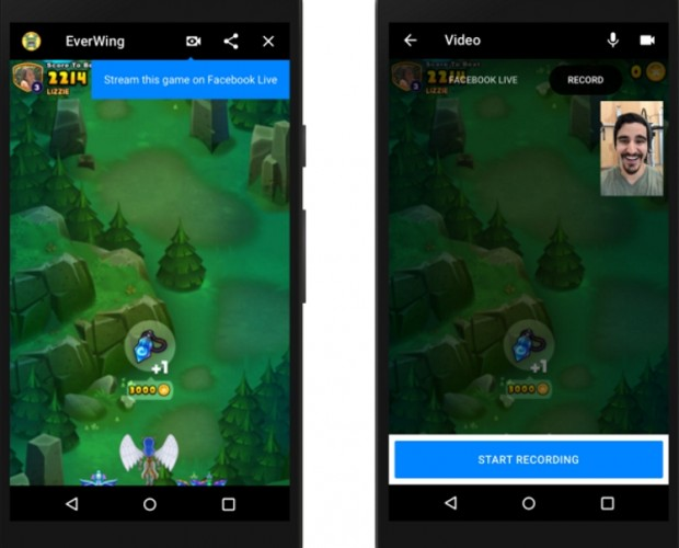 Facebook brings livestreaming and video chat to Messenger games