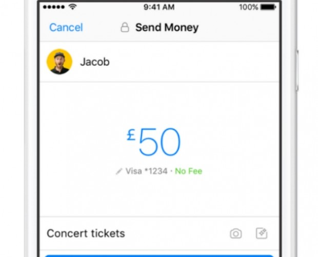 Facebook Messenger payments arrive in the UK