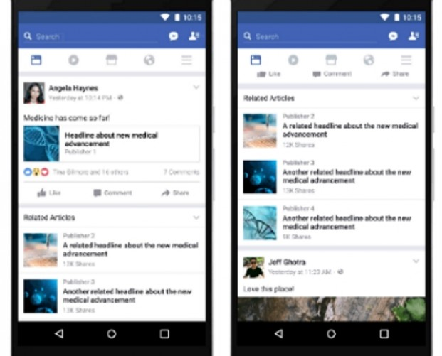 Facebook is hoping that fake news gets buried beneath more real information