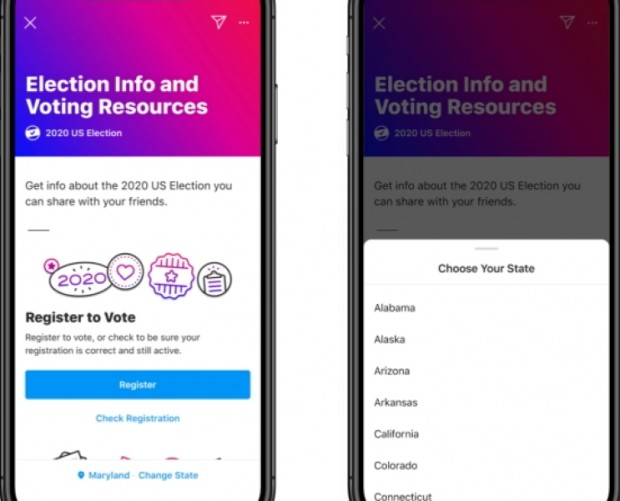 Facebook debuts US Election voting hub