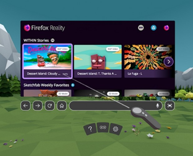 Mozilla launches VR Firefox web browser