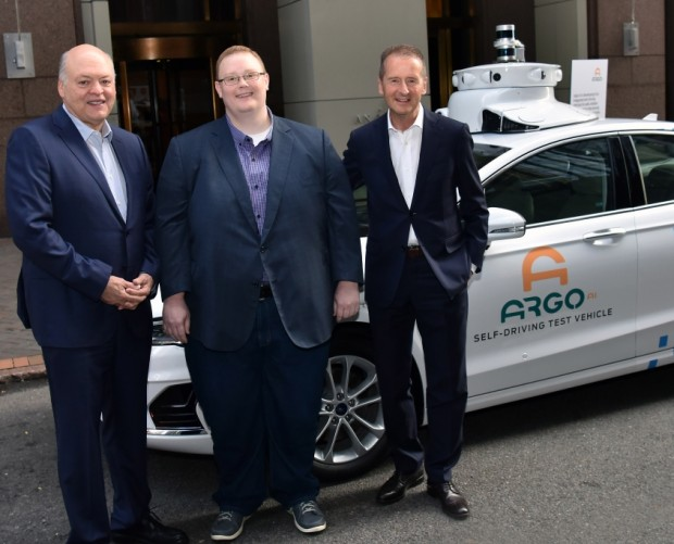 Volkswagen invests $2.6bn in Argo AI, forms electric vehicle parntership with Ford