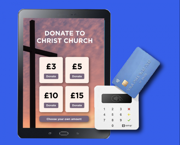 Give A Little app allows charities to receive contactless donations