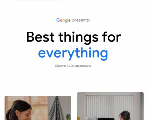 Google launches 'best' products hub