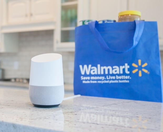 Walmart joins forces with Google to take on Amazon's Alexa voice shopping