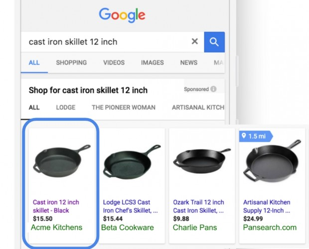 Google Adwords adds status reports and metric to see effectiveness of shopping campaigns