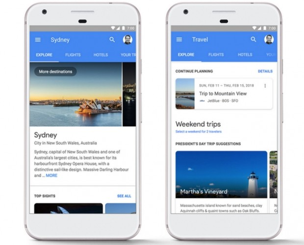 Google now lets you book your holiday through search results on mobile