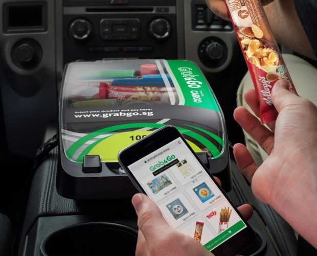 Grab links up with Cargo to let passengers buy in-car snacks