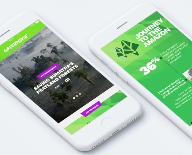 Greenpeace launches VR app to transport people to 'amazing' locations around the world