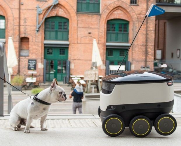 Hermes is launching a robot delivery trial in the UK with help of Starship Technologies
