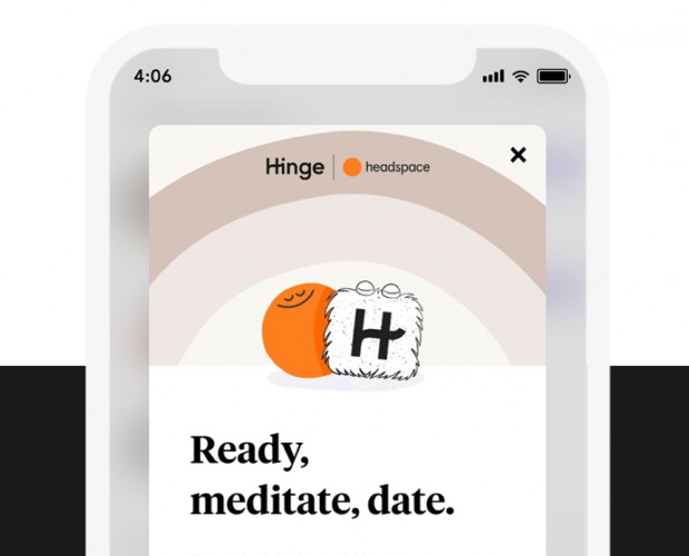 Hinge and Headspace team up to help with first date jitters