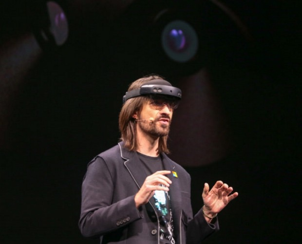 Microsoft unveils the second generation of its HoloLens mixed reality headset