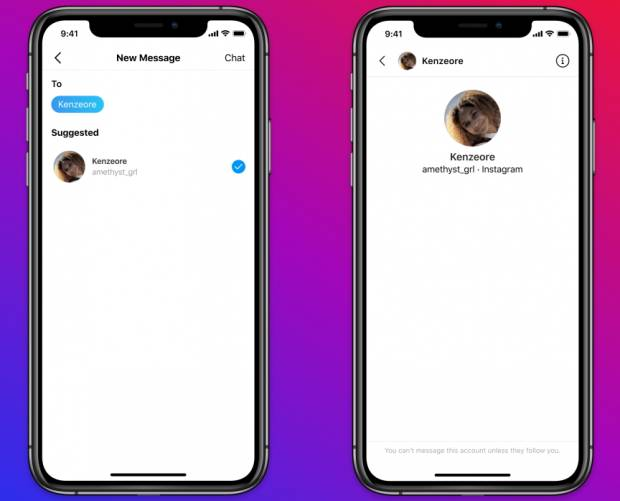 Instagram begins restricting adult to teen DMs