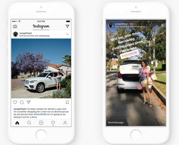 Instagram attempts to make it clearer when posts have been paid for