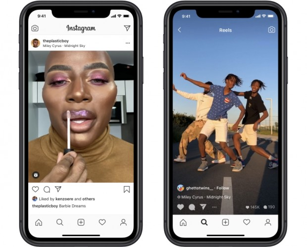 Instagram launches Reels, its TikTok clone