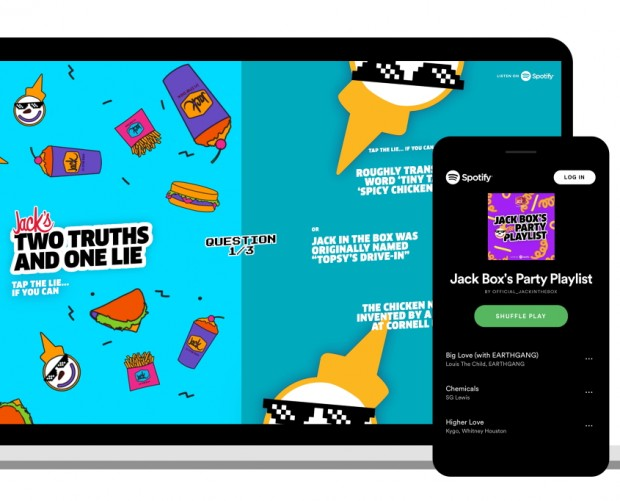 Jack in the Box debuts gamified ad experience offering free tacos on Spotify