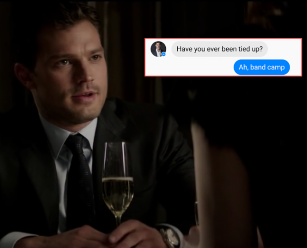 My Facebook chat (sort of) with Christian Grey