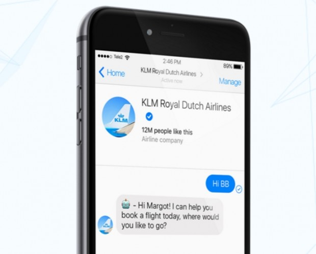 KLM introduces Messenger chatbot for ticket booking