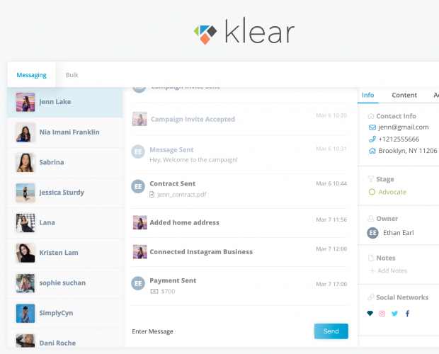 Klear launches Klear Connect influencer campaign management solution