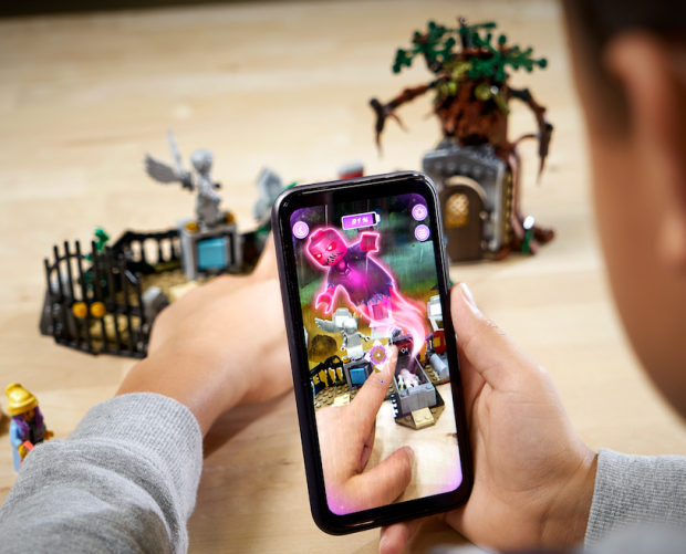 Lego is launching its first augmented reality-enhanced building set and app
