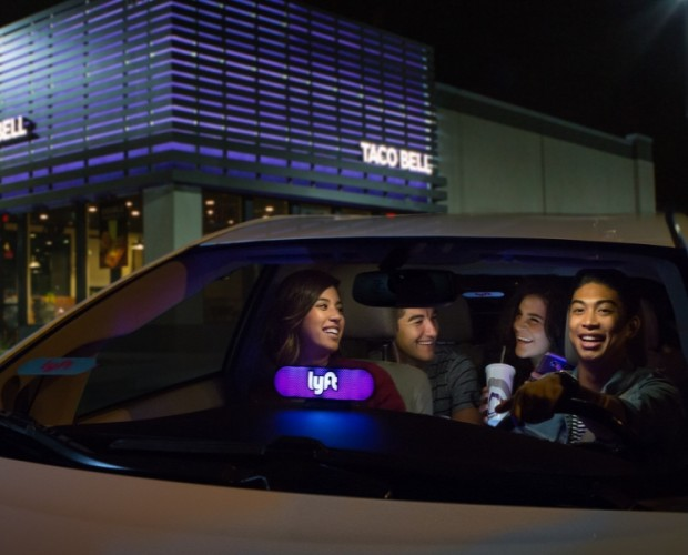 Lyft partners with Taco Bell to satisfy those late-night munchies